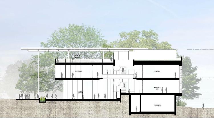 solar, photovoltaic, schematic design, Georgia Tech, Living Building